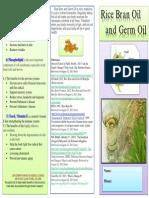 Rice Bran Brochure