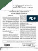 Gayet+Marshall+Sempere 1991 Mz-Pc vertebrates of Bolivia