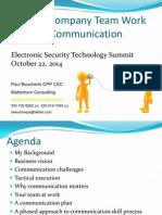 matterhorn consulting - communications workshop