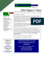 NALS Reg 7 Newsletter