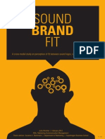 Sound Brand Fit a Cross Modal Study of the Perception of Fit Between Sound Logo and Brand