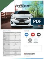 Attrage Brochure Pricelist