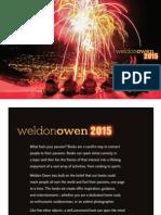 Weldon Owen 2015 Catalog