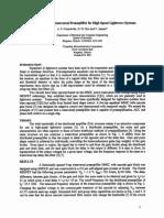 MMIC Adaptive Transversal Preamplifier for HighSpeed