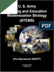 U.S. Army Training and Education Modernization Strategy