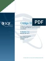 SQF Code Ed 7.2 Spanish
