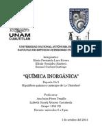 INTRODUCCION EQUILIBRIO QUIMICO