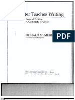 Writer Teaches Writing - Murray