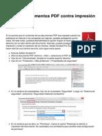 Proteger Documentos PDF Contra Impresion y Copia 10416 Mkn1u1
