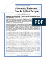 Psycology of Good and Bad People pdf