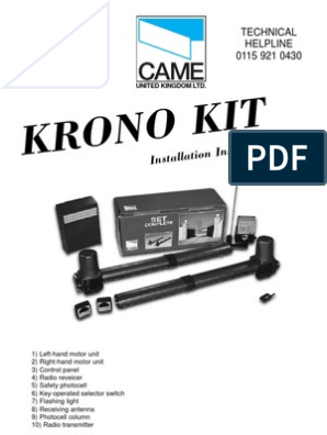 Came Wiring Manual | Coaxial Cable | Electrical Connector