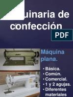 Tipos de Maquinas de Confección