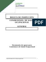 Guía de Inspecion General en Salud Ocupacional