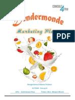 Marketing plan of a Dairy Company