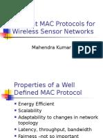 MAC Protocols