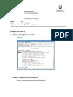 Configuracion de Plataforma