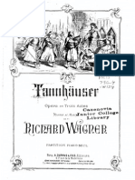 Wagner, Richard - Tannhauser - Ouverture Pour Piano