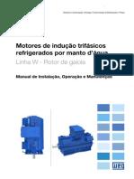 WEG Motor de Inducao Trifasico Refrigerado Por Manto Dagua 11201624 Manual Portugues Br