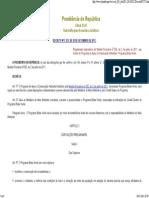 Decreto Nº 7.572 de 28 de Setembro de 2011