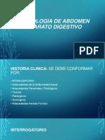 Semiologia de Aparato Digestivo