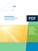 CHI Annual Report FYE June 2014