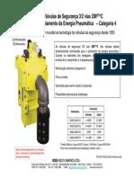 DM2C - Válvula de Segurança Para o Isolamento Da Energia Pneumática