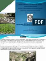 PONENCIA ING. ARIAS- Evaluación Aguas Residuales