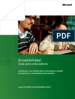 Guía de Accesibilidad Para Educadores.