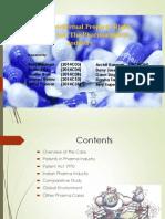 BE - Pharma Case Study