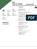 Manual usuario. AQUALTIS AQ114D 69D