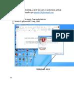 Manual de Instalacion de Aplicaciones Apple Actualizado