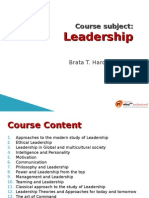 Leadership-Course 35 SLIDES