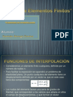 Exposicion de Elementos Finitos - Analisis Estructural