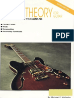 Music Theory for Guitar Michael Wolfsohn