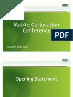 Telecom Mobile Co Location Conference Slide Pack