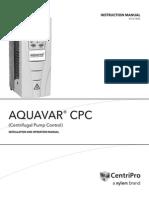 Manual Programacion VARIADOR Aquavar