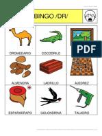 Bingo Sinfones DR 3x3 2 Cartones