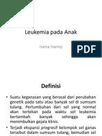 RSUD Tarakan Pediatric Referat - Leukemia Ppt