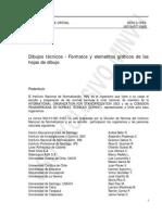 Nch0013-1993 Dibujos Tecnicos-Formatos y Elementos Graficos de Hojas de Dibujo