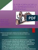 Democracia Representativa y Participativa 9º