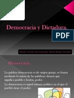 Democracia y Dictadura 9º