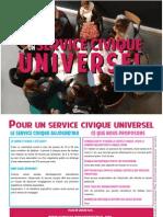 Tract de Campagne - Service Civique Universel
