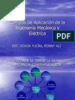 Campos de Aplicacion Fr La Ing. Mecanica
