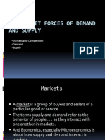 The Market Forces of Demand and Supply