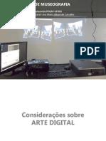 laboratório de museografia - arte digital