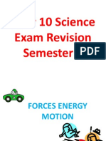 y10 semester 2 exam revision