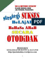 Strategi Sukses Belajar Bahasa Arab Secara Otodidak-libre