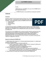 Low FODMAPs Guideline 7.2012