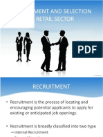 recruitmentandselectioninretailsector-120223031219-phpapp02