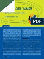 Beatriz Preciado Gigantas Casas Ciudades